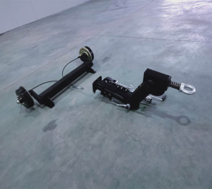 Impact brake trailer walking system